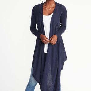 Maternity Extra Long Open Front Cardigan